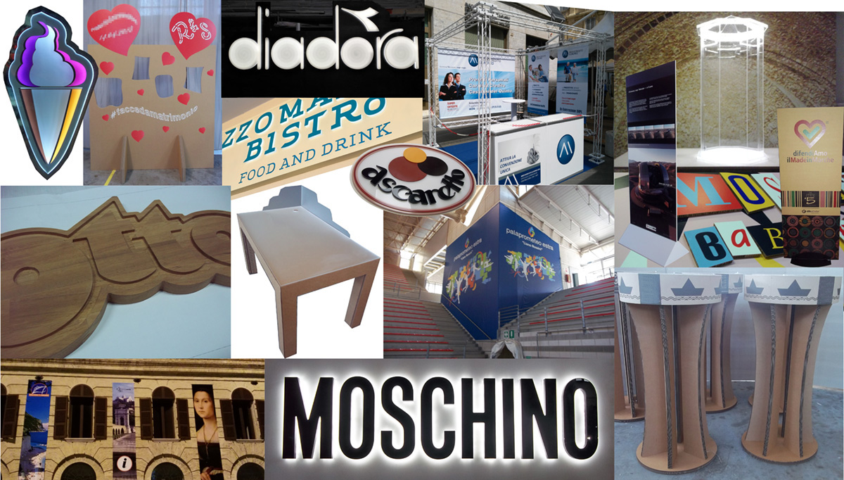 Articoli prodotti dalla ditta PubliCar Adesivi Ancona